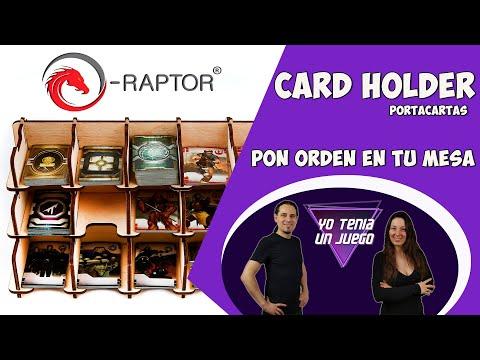 Accesorios para juegos de mesa | Portacartas Card Holder | E-Raptor | Español