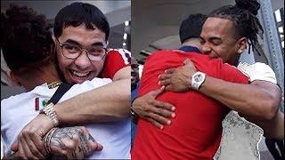 PRIMERAS FOTOS: Salida de prision Anuel AA (Video) 2018