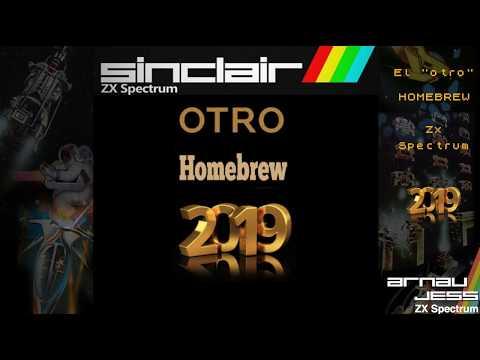 """El """"otro"""" Homebrew 2019 Zx Spectrum"""