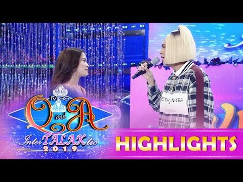 It's Showtime Miss Q & A: Vice and Ate Girl Jackque reenact one of the famous scene from Halik