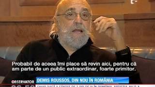 Demis Roussos s-a întors la Bucureşti!
