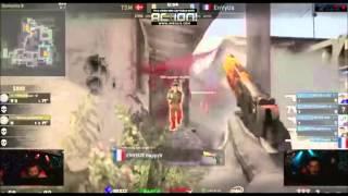 CS:GO EnVyUs Happy deagle ace reaction