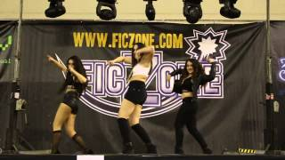 4MINUTE - 미쳐(Crazy) / Dance Cover by Black Velvet (Ficzone Granada 2015)
