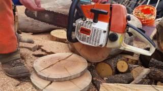 Stihl 036 vs Chinese Homdox 62cc chainsaw