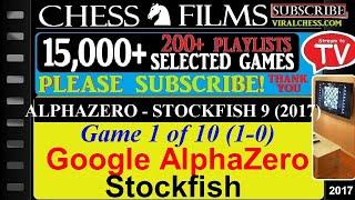 ALPHAZERO - STOCKFISH 9 (2017) - Chess TV - 10 Best Games on