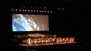 Lord of The Rings - Symphony Soundtrack live Orchestra - Two Towers