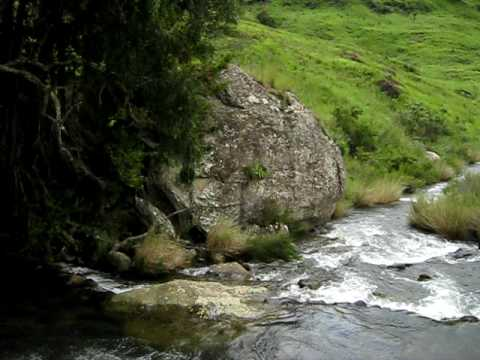 South Africa – a small river in the Drakensberg