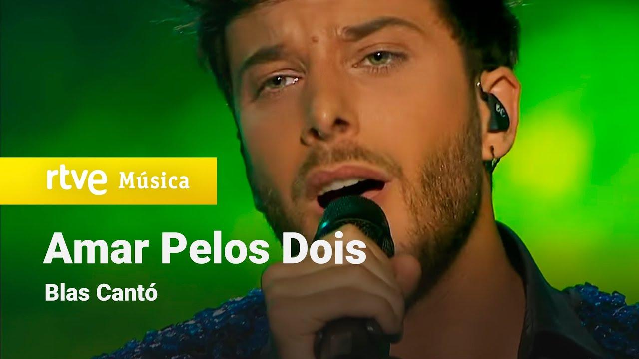 Blas Cantó sorprende con una emocionante versión acústica de <i> Amar pelos dois</i> en <i>Destino Eurovisión</i>