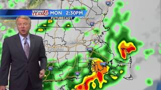 Cloud cover early, spot showers late: Mike's Forecast