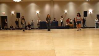 Lonely Drum Line Dance by Judy McDonald Demo @2017CD