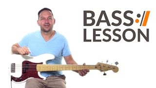 What A Beautiful Name - Hillsong Worship // Bass Tutorial