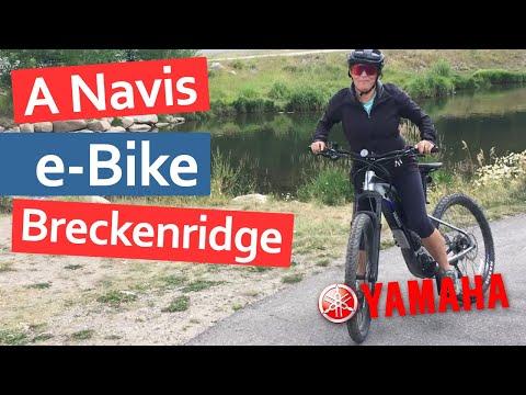 We Took A Yamaha E-Bike To Breckenridge