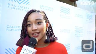 THE HATE U GIVE's director George Tillman and actress Amandla Stenberg on how the book inspired them