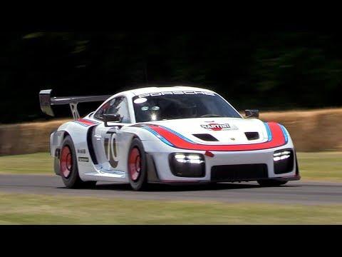 NEW Porsche 935 Going Flatout @ FOS Goodwood! Exhaust Sounds & Accelerations!