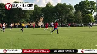 San Lazaro vs Olimpia Liga Latinoamericana Sabado