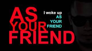 Afrojack ft. Chris Brown - As Your Friend Lyrics HQ