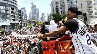 Raptors parade in under 8 minutes: Highlights