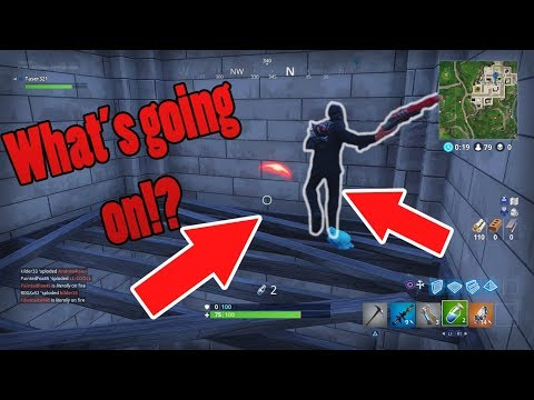 THE WEIRDEST FORTNITE GLITCH EVER...