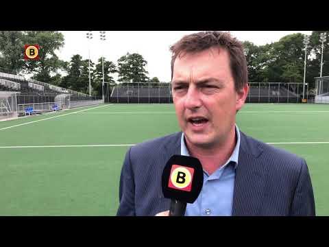 Wethouder Paul de Beer blij met Champions Trophy in Breda.