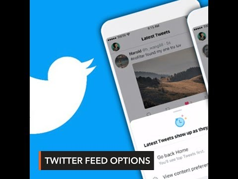 Twitter relaunches reverse-chronological feed option