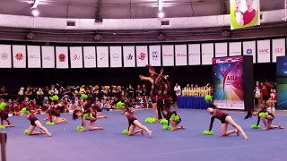 ACIC 2017 63 Prime Star Cheerleading China Team Cheer Freestyle Pom Junior [HD]