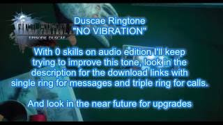 Final Fantasy XV Ringtone NO VIBRATION