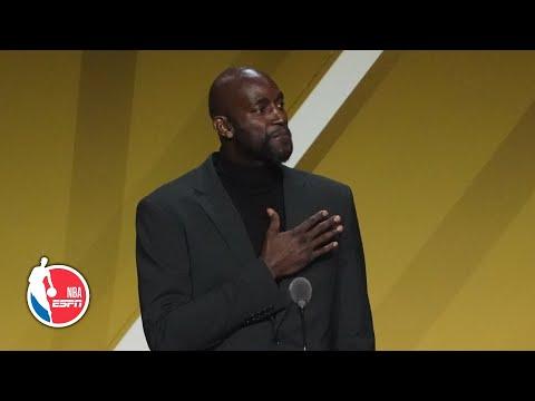 Kevin Garnett thanks Kobe Bryant, Tim Duncan and many more in speech | 2020 Basketball Hall of Fame