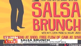 SUNDAY SALSA BRUNCH: HK'S ONLY DAY TIME SALSA PARTY