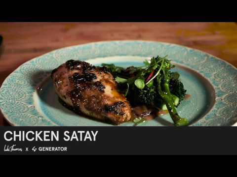 Chicken Satay - Generator X Luke Thomas