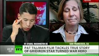 Pat Tillman story, Military pump fake