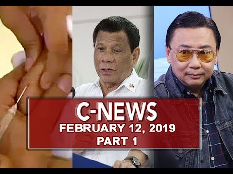 UNTV: C-News (February 12, 2019) PART 1