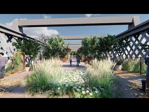 Twelve Architects unveil plans for an urban park reminiscent of New York City's High Line