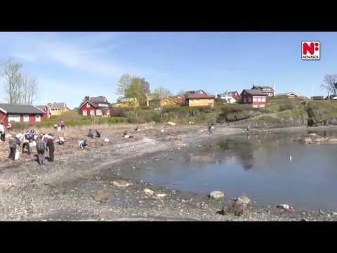 NOVASOL Norge på åpningen av Nordisk Strandryddedag 2017