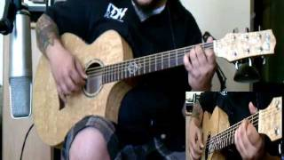 Richard Marx - Right Here Waiting - solo acoustic fingerstyle cover - by ( Kenny Giron ) kG