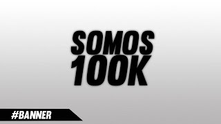 Banner Pra Canais de 100K