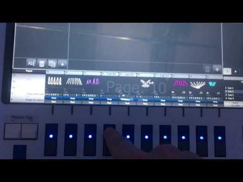 MIDI Trigering Avolites en Español