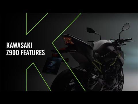 New Kawasaki Z900 MY20 - Technical Video