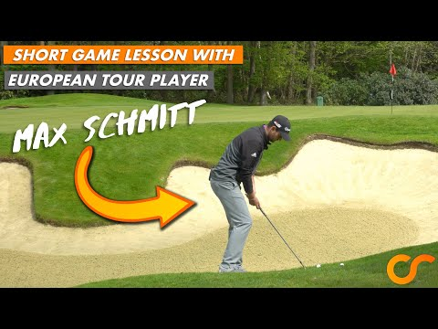 SHORT GAME LESSON WITH TOUR PLAYER MAX SCHMITT