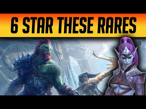 THE ONLY RARES I WOULD BUILD & MAX! | Raid: Shadow Legends