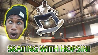 HOPSIN AT SKATELAB!