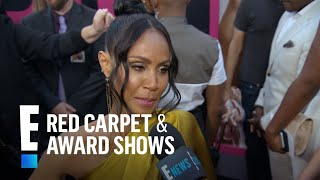 Jada Pinkett Smith Talks Working With Queen Latifah | E! Live from the Red Carpet