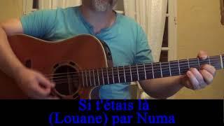 Si t'étais là (Louane Emera) reprise guitare voix de sa dernière chanson