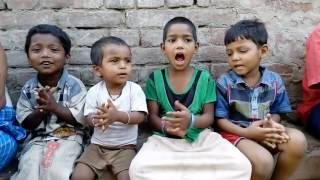 Children's singing shiv charcha.