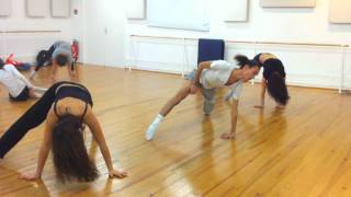 """bound to you"" Christina Aguilera Modern'jazz Class"