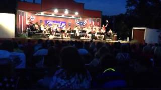 "The Lakewood Project Rock Orchestra performing "" Born in the USA"" on July 4th 2013"