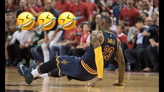 "NBA ""Slippery"" Moments"