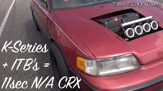 K-Series + ITBs = 11sec CRX