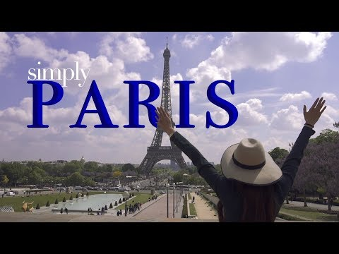 ▌► SIMPLY - PARIS 4k TRAVEL TOUR