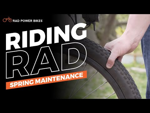 Spring Maintenance | Riding Rad