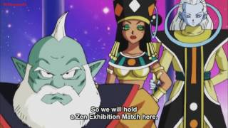 All 12 Gods of destruction, supreme kais and angels!! English-Spanish subs HD Dragon Ball Super 78